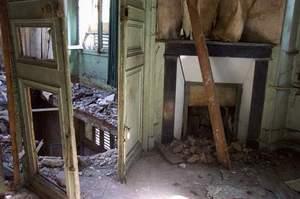 Une Photo prise dans une Maison Abandonnée. Attention au trou dans le plancher.